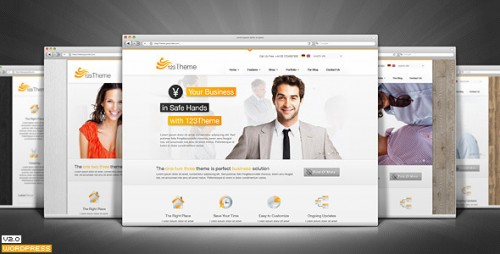 123Theme WordPress Premium Theme