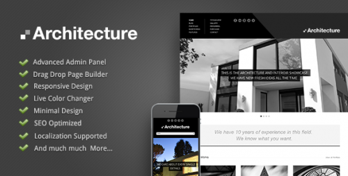 Architecture - Premium WordPress Theme