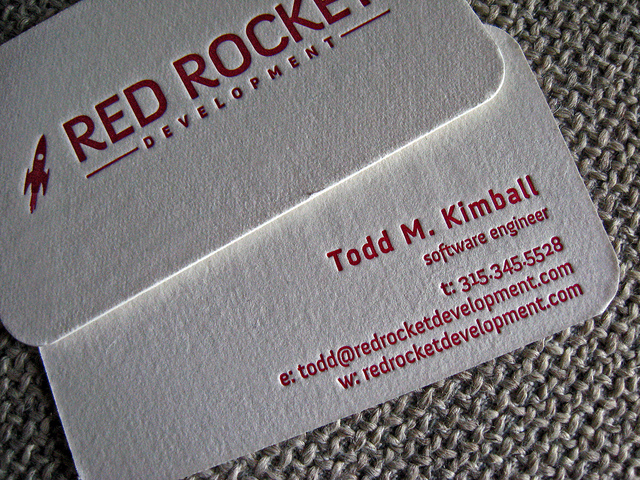 30 Creative Rounded Corner Business Cards
