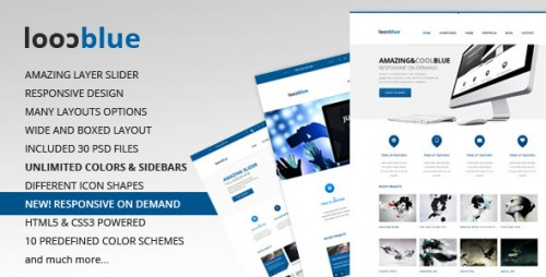 Coolblue - Responsive WP Theme