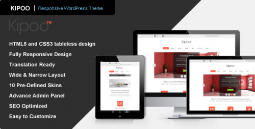 Kipoo - Business WordPress Theme