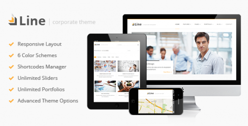 Line - Corporate WordPress Theme