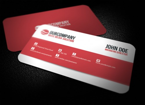 30 creative rounded corner business cards creativevore for Business card rounded corners