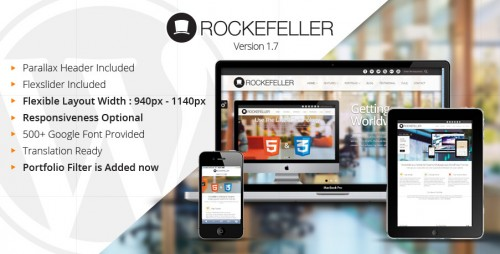 Rockefeller Multipurpose WP Theme