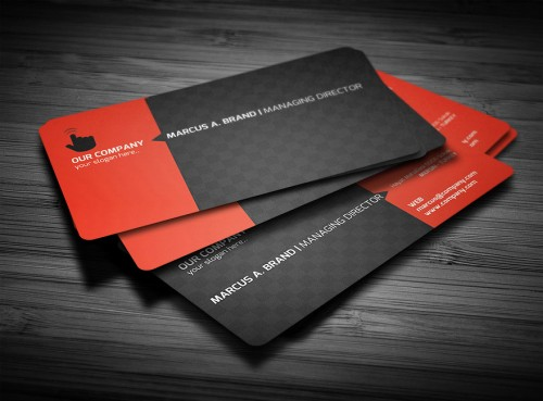 28 Creative Rounded Corner Business Cards