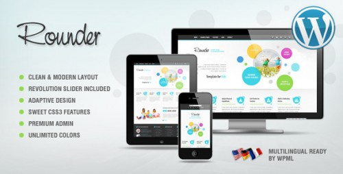 Rounder Adaptive WordPress Theme