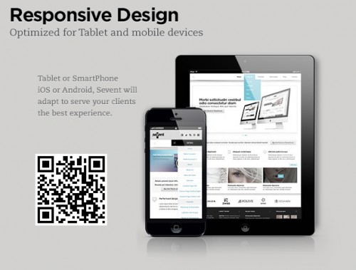 Sevent - Responsive WordPress Theme