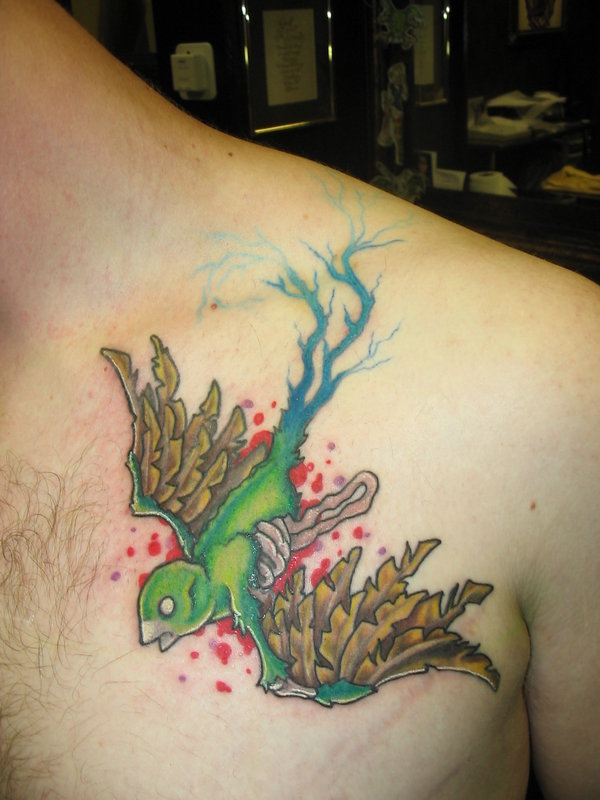 A Collection of Sparrow Tattoo Designs - CreativeVore
