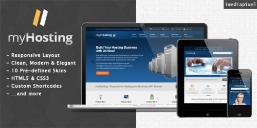 myHosting - Hosting & Business Theme