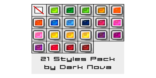 21 Gummy Bear PS Styles