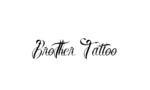 Brother Tattoo Font