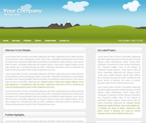 Coding a Clean & Illustrative Web Design