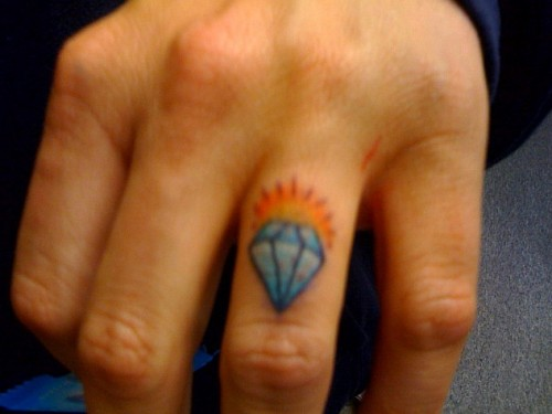 Diamond Knuckle Tattoo Ideas