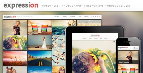 Expression Photography WP Theme