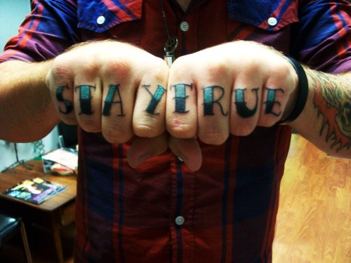 Fantastic Knuckle Tattoo for 2013