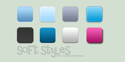 Photoshop Soft Styles