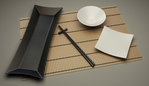 How To Model a Chinese Table Set