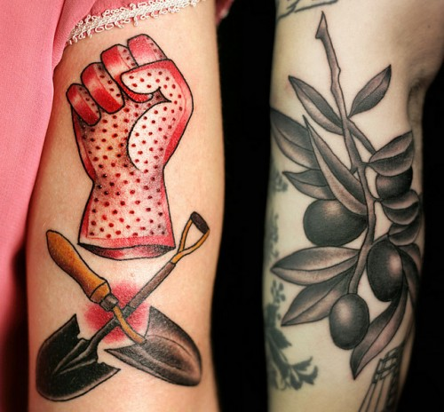 New Couple Valentines Tattoos