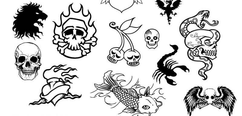 1000+ Free Tattoo Brushes for Photoshop