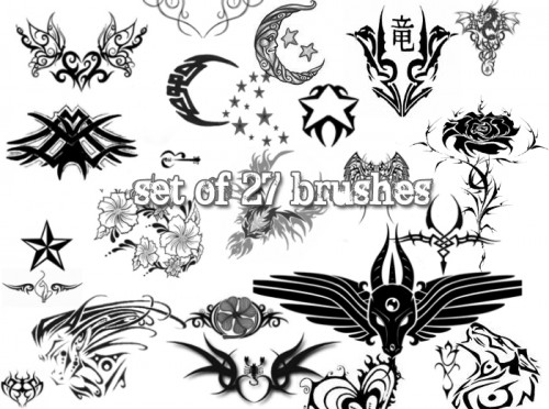 27 Free Tattoo Brushes