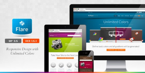 Flare - Responsive Business Theme