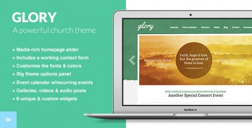 Glory - The WordPress Theme