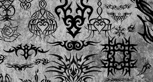 Tribal Brushes for Photoshop
