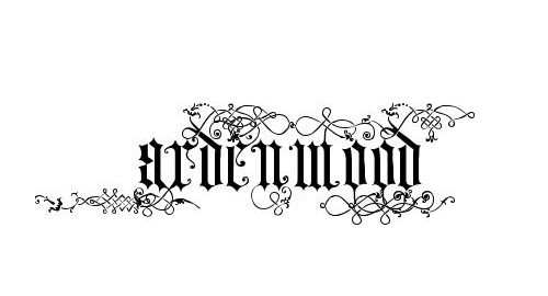 25 Amazing Free Old English Tattoo Fonts