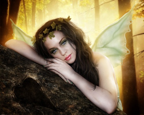 Autumn Fairy Photo Manipulation