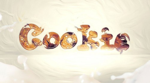 Cookie Bite Text Effect in Photoshop