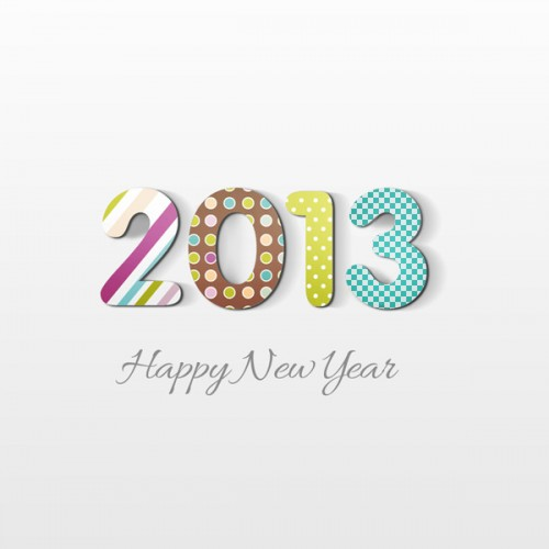 Create Happy New Year 2013