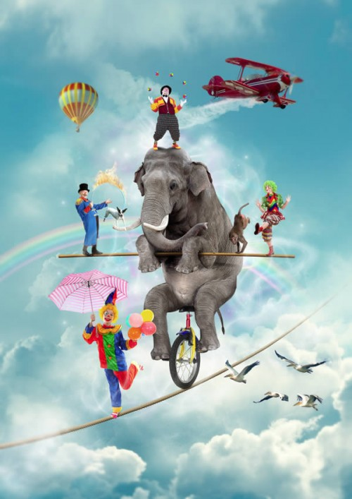 Create a Magical Circus Photo Manipulation