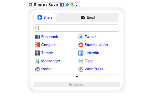 Share Buttons by Lockerz
