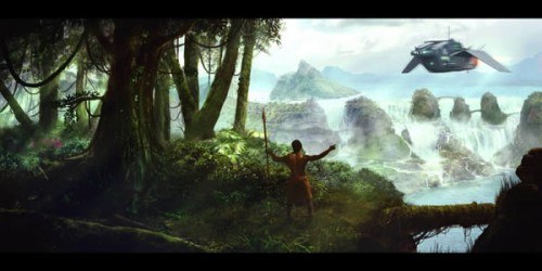 Use Photography to Create a Scenic Matte Painting