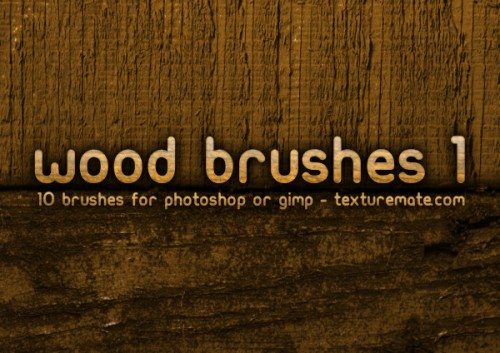 10 Free Wood Brushes