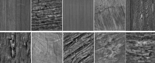 10 Wood Effect Photoshop Brushes
