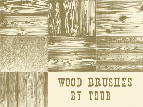 7 Wood Brushes for Free