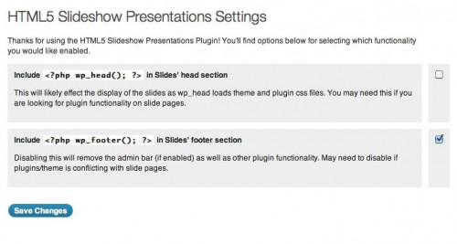 HTML5 Slideshow Presentations