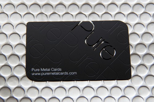 Stainless Steel Prism Business Card