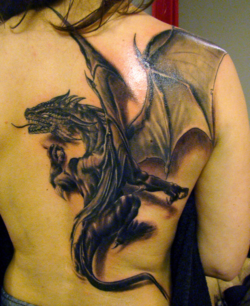 Dragon Tattoo Picture
