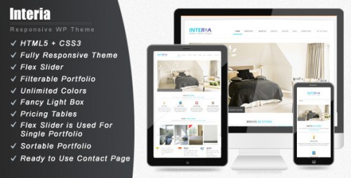 Interia - Responsive WordPress CMS Theme