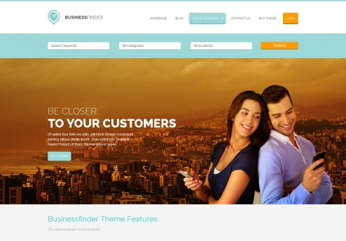 Business Finder - Directory Listing WP Theme