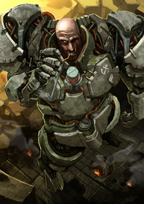 Popeye the Space Marine