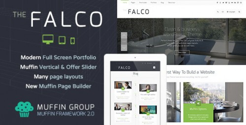 Falco - Responsive Multi-Purpose WP Theme