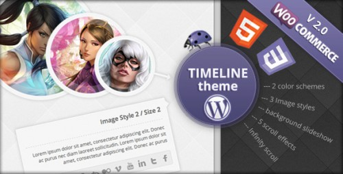 Timeline eCommerce WordPress Theme