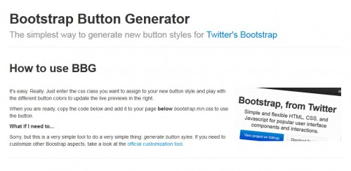 7 Reliable Bootstrap Design Tools for 2014 – CreativeVore