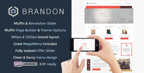 Brandon - Responsive WordPress Theme