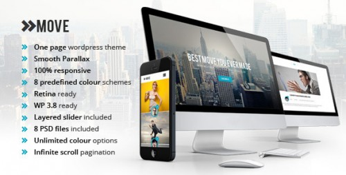 Move - Responsive OnePage Parallax WP Theme