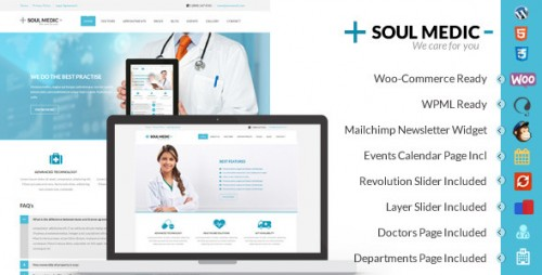 SoulMedic - Responsive Medical & Health Theme