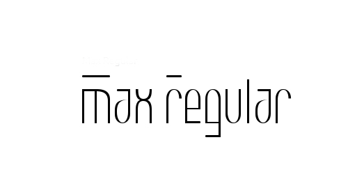Max Font Family